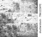 grunge background of black and... | Shutterstock . vector #786122692