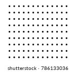 small polka dot seamless... | Shutterstock .eps vector #786133036