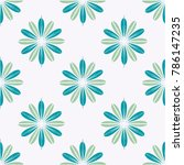 new color seamless pattern with ... | Shutterstock .eps vector #786147235