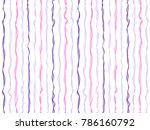 rippling curved stripes... | Shutterstock .eps vector #786160792