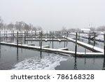 dock during winter | Shutterstock . vector #786168328