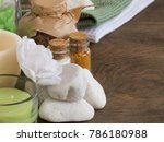 set ingredients and spice for... | Shutterstock . vector #786180988