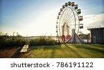 sydney luna park afternoon... | Shutterstock . vector #786191122