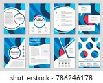 abstract vector layout... | Shutterstock .eps vector #786246178
