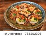 vietnamese lunch  vietnamese...   Shutterstock . vector #786263308