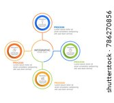 circle infographic template...   Shutterstock .eps vector #786270856