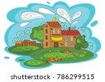 animal shelter vector... | Shutterstock .eps vector #786299515