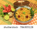 fried daal mash | Shutterstock . vector #786305128