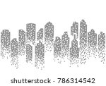 city skyline background vector... | Shutterstock .eps vector #786314542