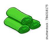 vector stock of dadar gulung... | Shutterstock .eps vector #786318175