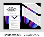 abstract vector layout... | Shutterstock .eps vector #786319972
