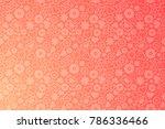valentines day horizontal...   Shutterstock .eps vector #786336466