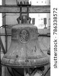 st. george church ancient bell... | Shutterstock . vector #786338572