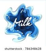splashes of milk  background ...