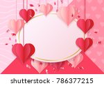 happy holidays  valentine's day ...   Shutterstock .eps vector #786377215