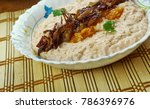 fasole batuta   romanian grated ... | Shutterstock . vector #786396976