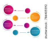 business data visualization... | Shutterstock .eps vector #786405592