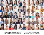 collection of different many... | Shutterstock . vector #786407926
