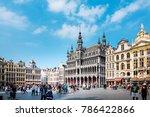 brussels  belgium   august 27 ... | Shutterstock . vector #786422866