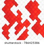 white red background  abstract... | Shutterstock .eps vector #786425386