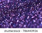 ultra violet sparkle background.... | Shutterstock . vector #786443926