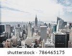 new york city  new york  usa  ... | Shutterstock . vector #786465175