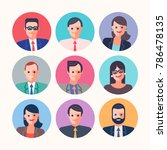 businessmen people characters... | Shutterstock .eps vector #786478135