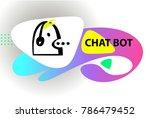 graphic design trend modern... | Shutterstock .eps vector #786479452