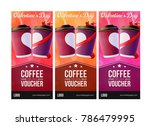 coffee to go valentine's day... | Shutterstock .eps vector #786479995