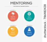 mentoring infographic icons | Shutterstock .eps vector #786482428