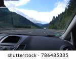 road trip in austria with car... | Shutterstock . vector #786485335