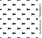 arrow pattern seamless repeat... | Shutterstock .eps vector #786488692