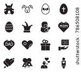 solid black vector icon set  ... | Shutterstock .eps vector #786508108