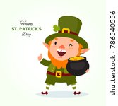 St.patrick 's Day. Leprechaun...