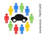 carsharing   car sharing  ... | Shutterstock .eps vector #786551602
