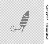firework vector icon eps 10.... | Shutterstock .eps vector #786558892