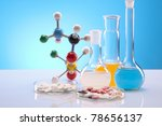 chemistry equipment  laboratory ... | Shutterstock . vector #78656137