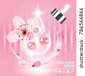 sukura   cherry blossom...   Shutterstock .eps vector #786566866