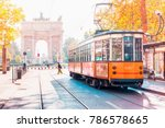Famous Vintage Tram In The...