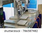 soldering iron tips of... | Shutterstock . vector #786587482