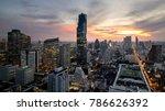 bangkok city   beautiful... | Shutterstock . vector #786626392