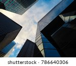 new york city. view from the... | Shutterstock . vector #786640306
