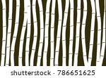 bamboo. abstract pattern.... | Shutterstock .eps vector #786651625