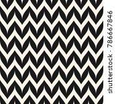 raster zigzag chevron seamless... | Shutterstock . vector #786667846