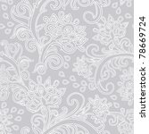floral seamless pattern | Shutterstock .eps vector #78669724