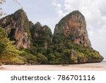 krabi in thailand | Shutterstock . vector #786701116