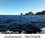 scene of cabo san lucas from a... | Shutterstock . vector #786705838