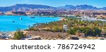 the mountain landscape of sharm ... | Shutterstock . vector #786724942