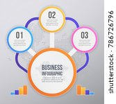 muticolor business infographic... | Shutterstock .eps vector #786726796