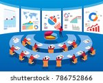 business people together to... | Shutterstock .eps vector #786752866